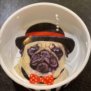 "Dog bowl for pugs 5.""x2"""